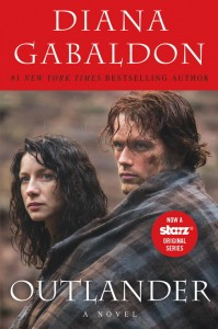 Diana Gabladon series new Starz cover