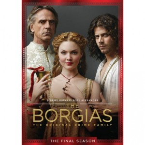 Showtime's The Borgias has three seasons, including one on Netlfix now.