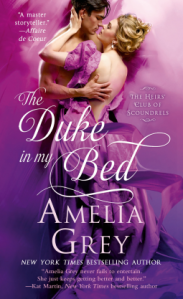 Amelia Gray Duke in my bed